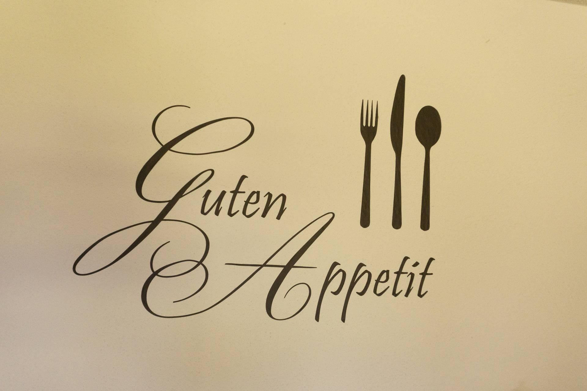 Guten Appetit