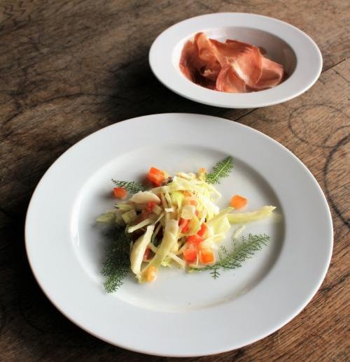 Fitness-Salat mit Elztalschinken zur Vorspeise